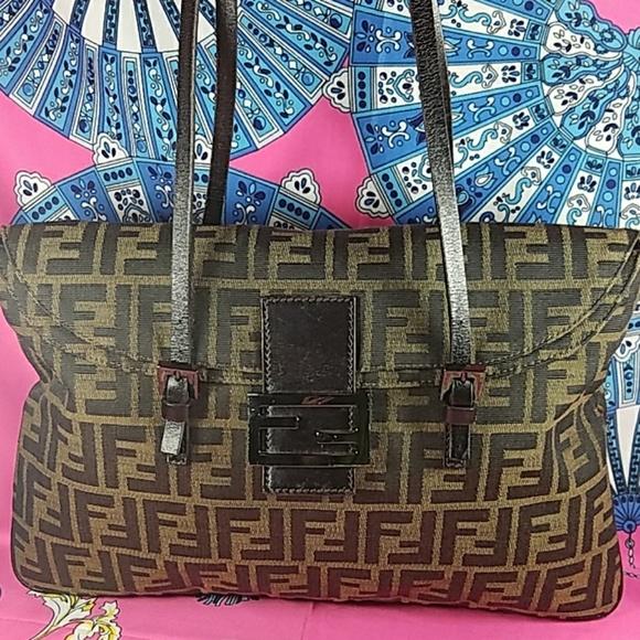 a519878484 Fendi Handbags - Authentic Fendi FF Monogram Shoulder Bag